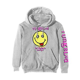 Yungblud Hoodie Raver Smile Logo new Official Off White Pullover Unisex