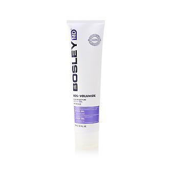 Bosley md bos volumize style+ blow dry & styling gel (medium hold) 255800 150ml/5.1oz