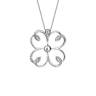 Collar de diamantes- Mariposa