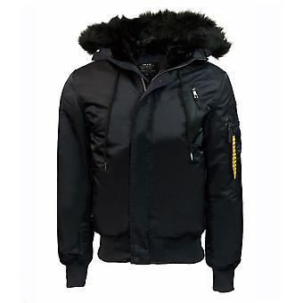 Top Gun N-2B Nylon Jacket Black