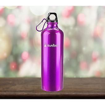 Botella de agua Summit 750ml con tapa - botella púrpura de 1 unidad