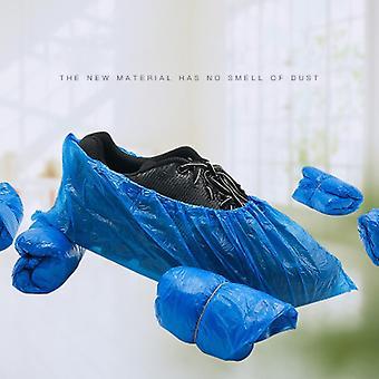 Hengittävä pölytiivis liukumaton ympäristönsuojelu Kertakäyttöinen kenkäkansi