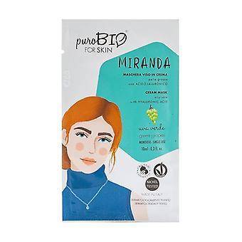 Miranda Cream face mask - green grape oily skin - 06 10 ml of cream (Grape)