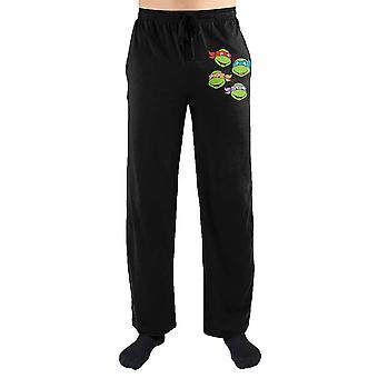 Teenage mutant ninja turtles tmnt four brothers print men's loungewear lounge pants