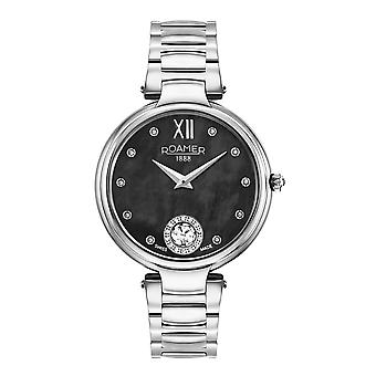 Roamer 600843 41 59 50 Aphrodite Black Mother Of Pearl Dial Wristwatch