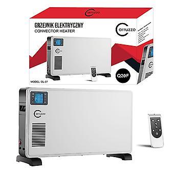 Chauffage électrique avec télécommande - 2300 W chauffage convector - 5-37 Celsius