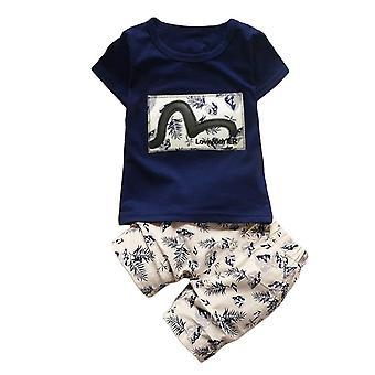 Baby Boy Bibicola Lyhythihainen T-paita ja shortsit