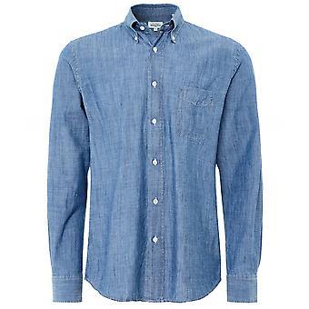 Hartford Regular Fit Chambray Pitt Shirt