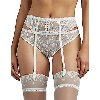Aubade Pour Toujours TC50 Women's Opal Embroidered Suspender Belt
