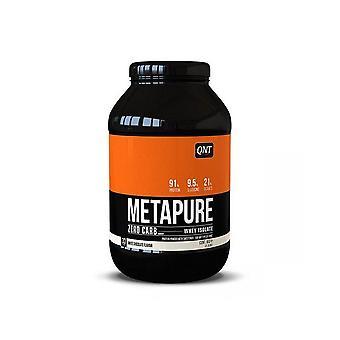 QNT Metapure Zero Carb Fat Free Whey Protein Isolate Powder (White Choc) 908g