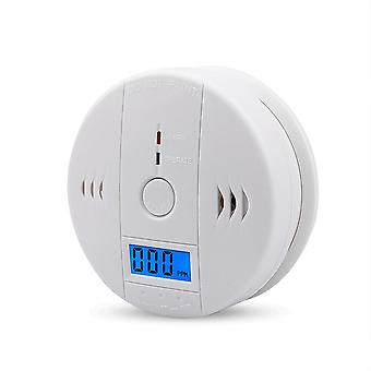 Home Security Lcd Co Sensor Work Alone Sisäänrakennettu 85db Siren Sound Independent