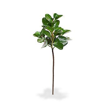 Artificial Peperomia Obtusifolia branch 50 cm