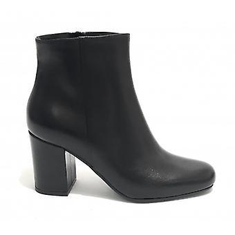 Women's Shoes Elite Ankle Boot Tc 70 Leather Black Color D20el02