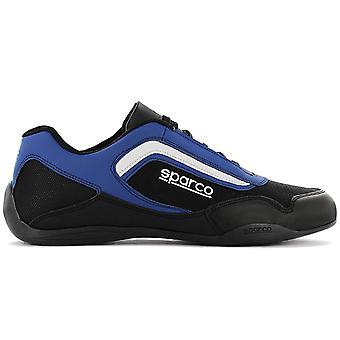 SPARCO Jerez Low - Men's Motorsport Shoes Black-Blue Sneakers Sports Shoes