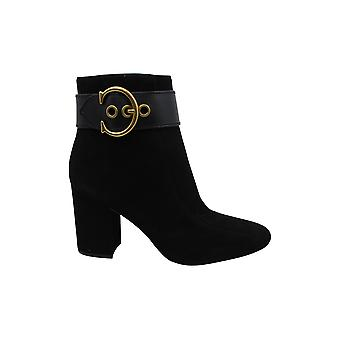 Coach Women's Shoes Dara Suede Closed Toe Ankle Fashion Boots