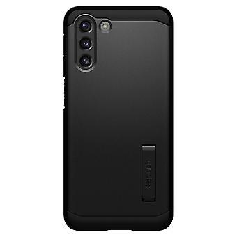 Coque Pour Samsung Galaxy S21+ 5g En Polycarbonate Et Silicone Noir, Tough Armor