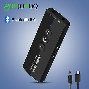 Bluetooth Transmitter V5.0 Wireless Audio Edr Dongle  (black)