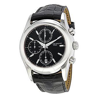 Frederique Constant Chronograph Black Dial Men's Watch FC-392B5B6