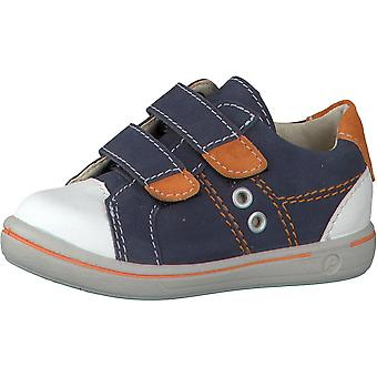 RICOSTA Nippy Double Velcro Fashion Trainer In Blue