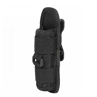 Tactical Flashlight Pouch, Holster Rotary Torch Case, Belt Cover, Durable