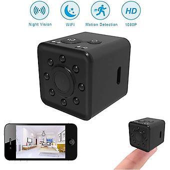 كاميرا صغيرة، كامل HD، 1080P، حالة للماء، قابل للتطبيق على نطاق واسع، مسجل عمل الرؤية الليلية، زاوية واسعة 155 درجة، ميزات الرؤية الليلية، المحمولة وخفيفة الوزن (أسود)
