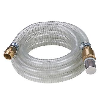 Einhell pump hose 4m with brass connections 4173630