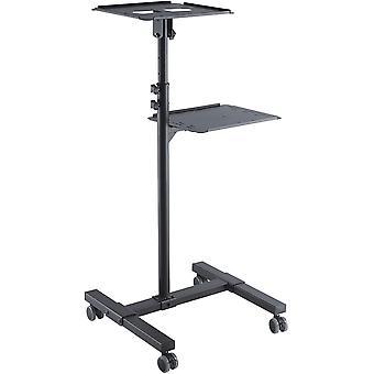 CC50282 Neigbarer Projektionswagen/-Tisch für Beamer und Projektoren , neigbar -12° bis 12°,
