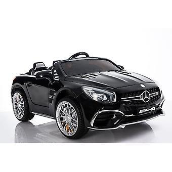 Mercedes SL65 negru - unitate electrica masina pentru copii