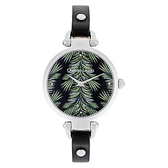 Christian Lacroix Analog Quartz Watch Woman with Leather Strap CLWE61