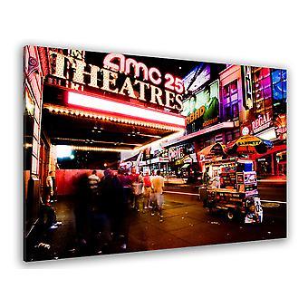Tableau deco new york amc empire 25 - 80x50 cm