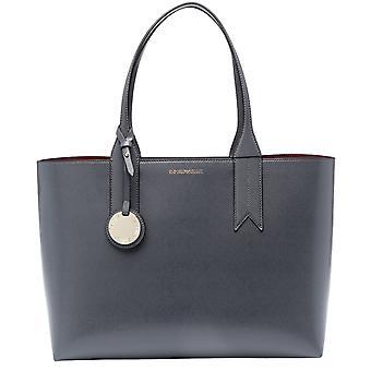 Emporio Armani Grey Shopping Bag