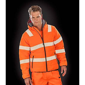 Result Genuine Recycled Unisex Adult Ripstop Safety Jacket