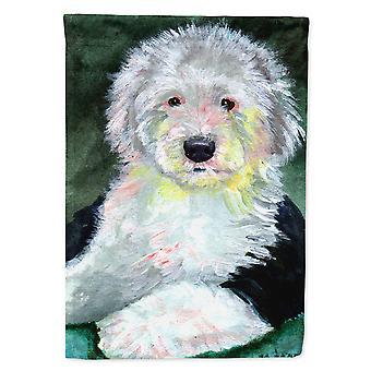 Caroline'S Treasures 7252Chf Old English Sheepdog Flag Canvas, Grand, Multicolore