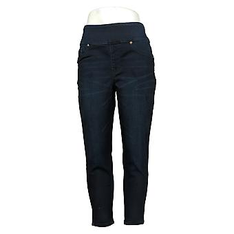 DG2 by Diane Gilman Petite Leggings Ultra Skinny Jegging Blue 733923