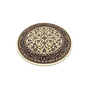 Matto ROYAL ADR ympyrä design 1745 karamelli