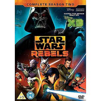 Star Wars: Rebels - Kausi 2 DVD