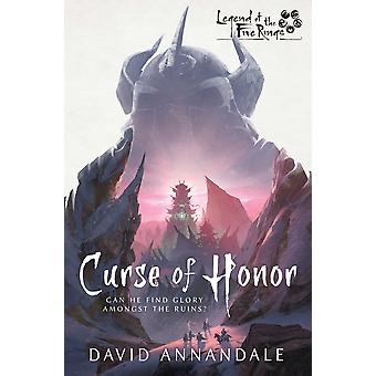 Curse of Honor: A Legend of the Five Rings Novel by David Annandale (Paperback, 2020)