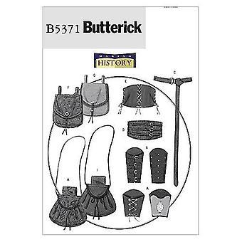 بتريك الخياطة نمط 5371 الرجال يفتقد المعصم الأقواس حزام مشد الحقائب الحجم S-L Uncut