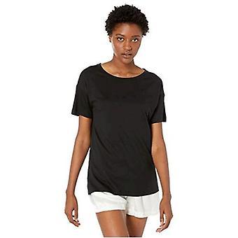 Marca - Mae Women's Cotton Modal Oversized Lounge Camiseta