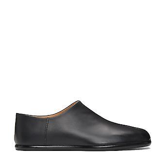 Maison Margiela Split Toe Calfskin Slip-on Loafers