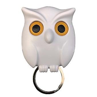 Scary Night Owls Magnetic Key Hooks Wall Holder Magnets Attraction Keep Keychains Portable New