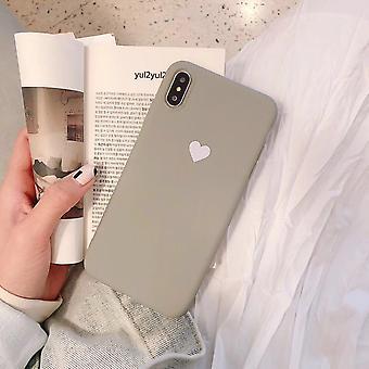 Liefde effen kleur telefoonhoesje
