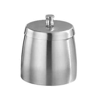 Outdoor Ashtray With Lid For Cigarettes Stainless Steel Windproof Rainproof Ashtray