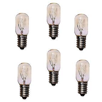 Incandescent light bulbs 220v 15w e14 refrigerator light bulbs cooker tungsten filament lamp (6pcs 15w)