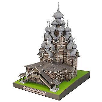 Russia fai-da-ti trasformata in una chiesa 3D fai-da-- fai-da-- Gioco educativo per adulti