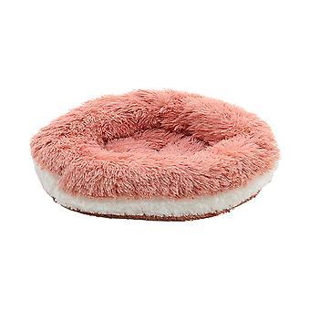 Donut Plüsch Hund Katzenbett Flauschig Weich Kuscheltier Bett