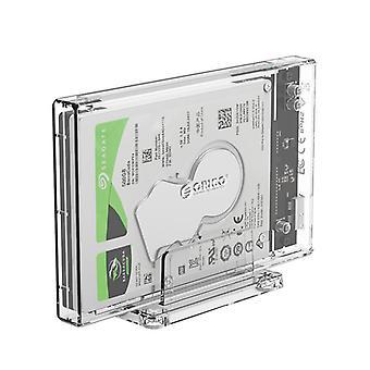 2159U3 USB3.0 SATA 2,5 hüvelykes HDD SSD merevlemez ház külső tok támogatás UASP