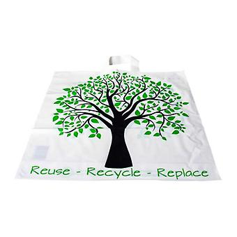 Bag for life Three motif Reuse Recycle