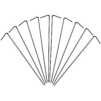 アモス スチール テントのペグ (17 cm) (10 パック)