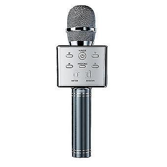 Lasten langaton Bluetooth Karaoke -mikrofoni, Kotimikrofoni(Sliver)